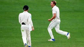 kiwis beat England by an innings and 49 runs in first Test at Eden Park